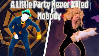 Just Dance 2019 A LITTLE PARTY NEVER KILLED NOBODY Fergie   Gameplay