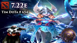 Dota 2 Crystal Maiden | 7.22e | Tim Dota 654