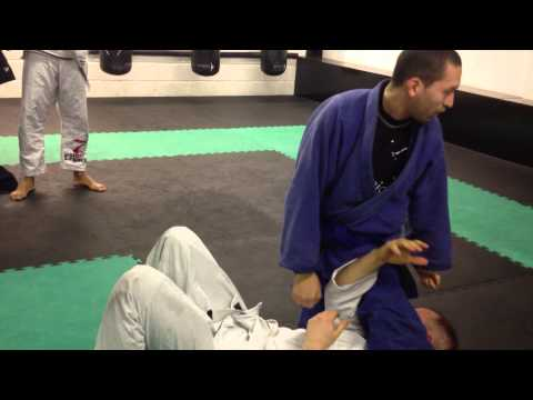 Jiu Jitsu: Escape from Knee on Stomach Image 1