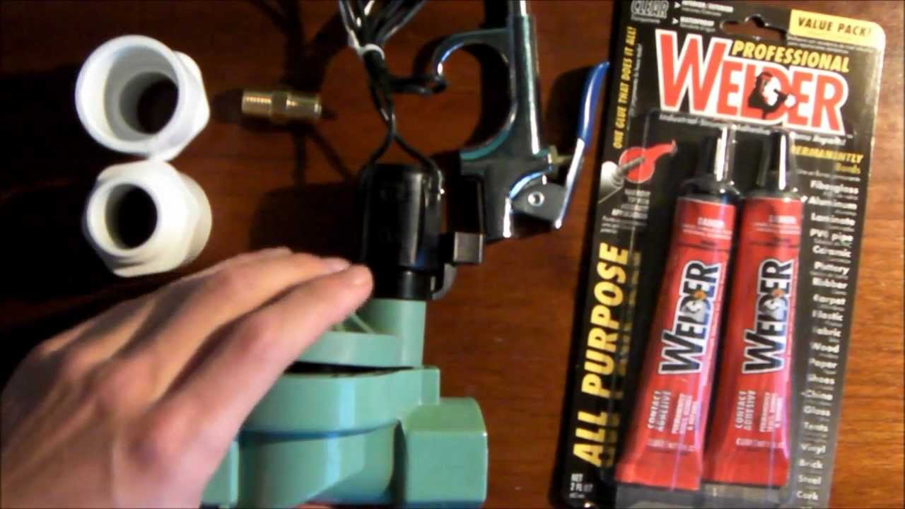 How To Modify A Sprinkler Valve For An Air Cannon Youtube