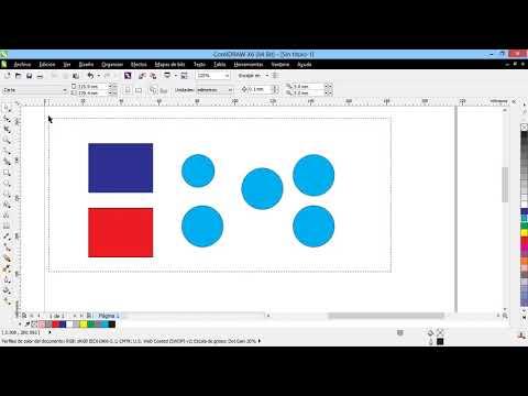 Curso Introducción a CorelDraw X6 - 50 Agrupar y Desagrupar Objetos