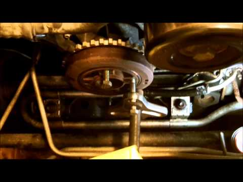Ford Ranger 3.0 timing chain gear set replacement Part III.wmv