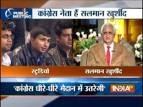 Public Meeting with Salman Khurshid: Discussion on Pakistan is not my Pakistani love