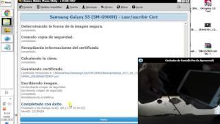 Leer o Escribir Certificado De Samsung Provado En S5 SM-G900H By ChimeraTool