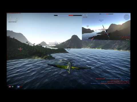 Обычный бой в War Thunder