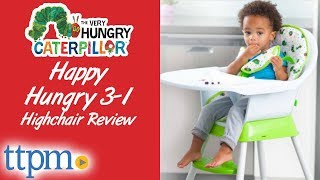The Very Hungry Caterpillar Happy & Hungry 3-in-1 High Chair from Creative Baby