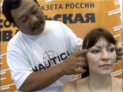 Видео как снять боль в ухе