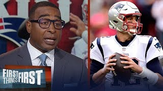 Cris Carter predicts Patriots will finish season 14-2, talks Saints win | NFL | FIRST THINGS FIRST