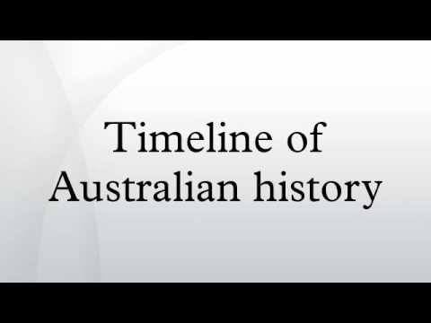 Timeline of Australian history