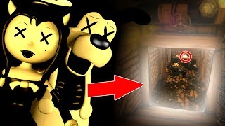 HUGE PROOF WE CREATED BENDY, BORIS, ALICE ANGEL! | Bendy and The Ink Machine Chapter 3 SECRET ROOM
