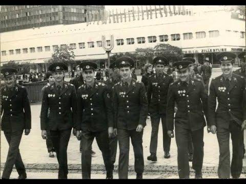 Военные, армейские песни - Белою зимой