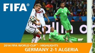 GERMANY v ALGERIA (2:1) - 2014 FIFA World Cup™