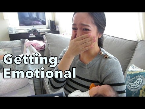 Getting Emotional - May 04, 2014 - itsjudyslife daily vlog