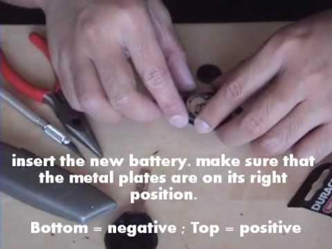 BMW 3- Series Battery KEY Replacement & Re-Program KEY