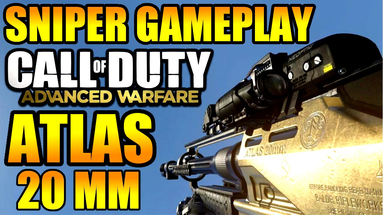 Advanced Warfare Atlas Sniper Advanced Warfare Sniper