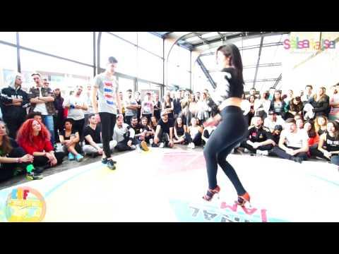 Yağmur Uysak & Murat Duman- Salsa Battle Round-2 | Final Jam | EDF 2017