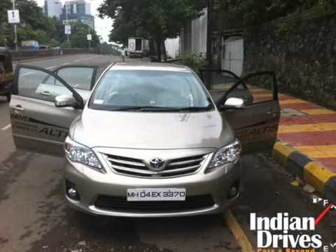 2014 Toyota Corolla Altis first drive | Motioncars - Holiday and