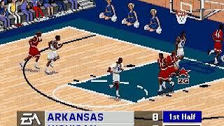 Coach K College Basketball (USA) Sega Genesis INGAME
