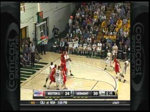 Men's Basketball: Vermont vs. Boston U (2/27/11)