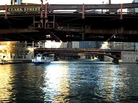 Chicago - Water taxi ride. Madison st. to the Wrigley Building.