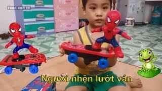 Người nhện lướt ván tuyệt đẹp - Đồ chơi người nhện | Tuấn Anh XK