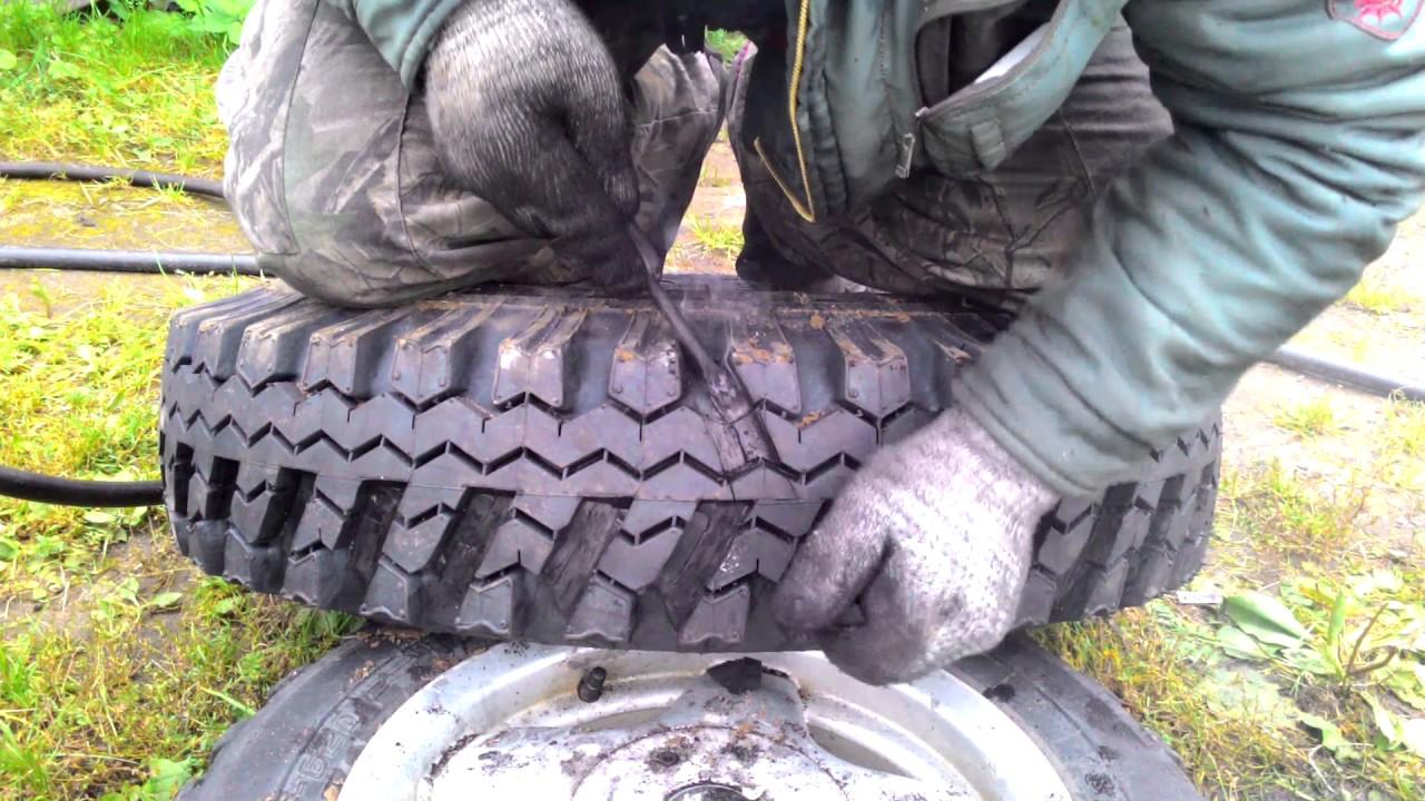 Как нарезать протектор на шине своими руками 20