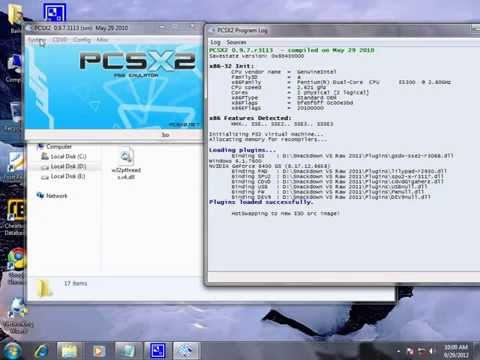 Using pcsx2 ps2 psc emulator for windows play any game PC (tutorial of smackdown vs raw)
