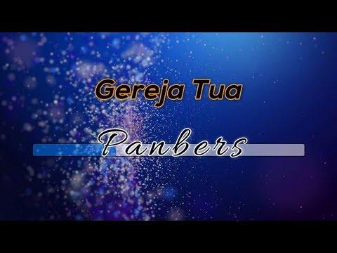 [Tanpa Vokal] ♬ Panbers - Gereja Tua ♬ Versi 2 +Lirik Lagu [Midi Karaoke]