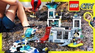 Lego City Police Prison Island Escape!
