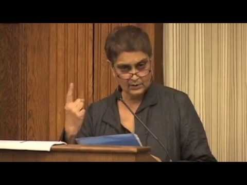 Gayatri Spivak on Brandon Ogbolu @ Harvard lecture, 11/09