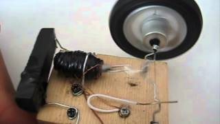 Real Paper Clip Motor (Solenoid Electric Engine)