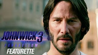 "John Wick: Chapter 3 - Parabellum (2019) Featurette ""The Continental in Action"" – Keanu Reeves"