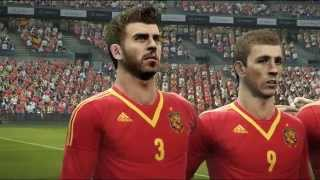 Spain + Italy National Anthems PES 2013
