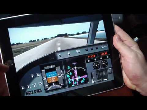 iPad Flight Simulator (Xplane)
