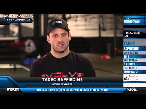 Tarec Saffiedine Ready for the Biggest Fight of His Career