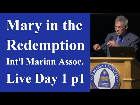 Mary in the Redemption: A Global Perspective Day 1
