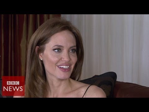 'I have a very fortunate life' Angelia Jolie - BBC News