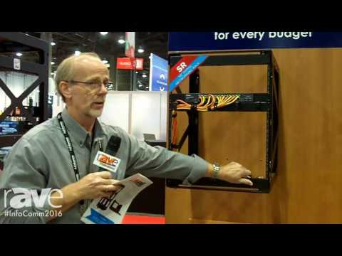 InfoComm 2016: Lowell Manufacturing Shows SR Networking Swing Rack
