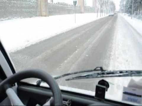 Birò test drive sulla neve