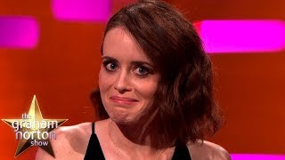 Claire Foy Gives Hints on Who Is Replacing Her in The Crown | The Graham Norton Show