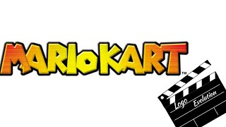 Mario Kart Logo Evolution