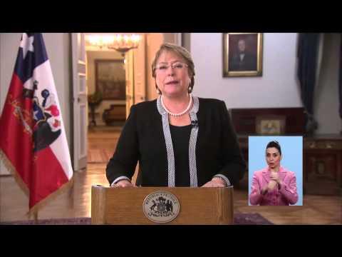 Michelle Bachelet anuncia itinerario de proceso constituyente