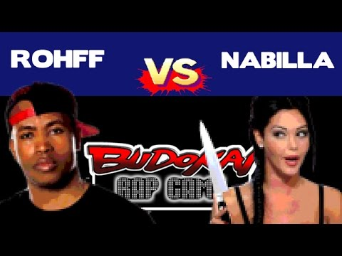 Nabila vs Rohff round 3 Budokai Rap Game