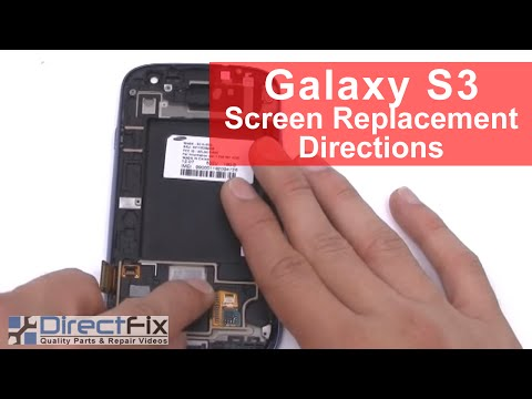 BEST Galaxy S3 Screen Replacement Directions
