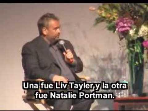 Luc Besson & Natalie Portman