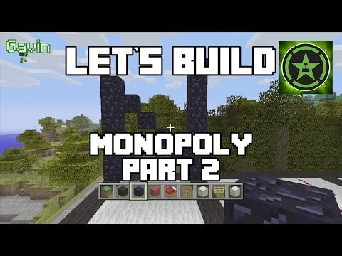 Let's Build in Minecraft - Monopoly Part 2