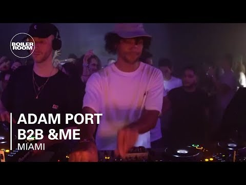 Adam Port b2b &ME | Boiler Room x III Points Festival | Miami Day 2
