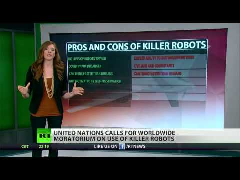 UN calls for global moratorium on 'Killer robots'