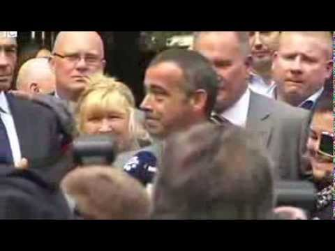 Michael Le Vell 'delighted' at not guilty verdict