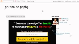 como crear paginas de captura en blogger